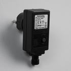 Трансформатор комнатный для гирлянд 220/24 В, 6 Вт, Н.Т. 2W, чёрный