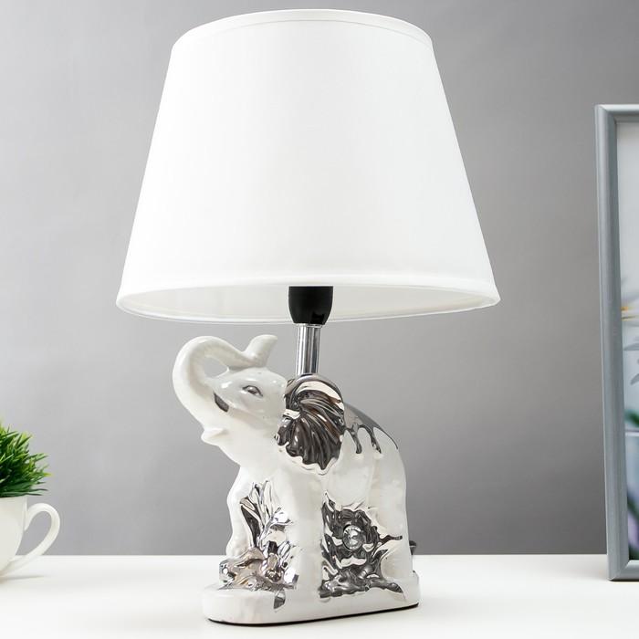 """Лампа настольная """"Белый слон"""""""