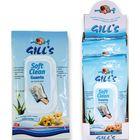 Салфетки-рукавицы очищающие, влажные, Gills, 6шт