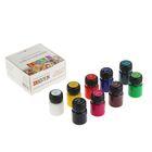 Краска по стеклу и керамике набор 9 цветов х 20 мл ЗХК Decola 4041113