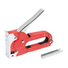 Степлер строительный TUNDRA comfort, метал. корп., скобы 11,3 мм, для скоб 4-8 мм 130084