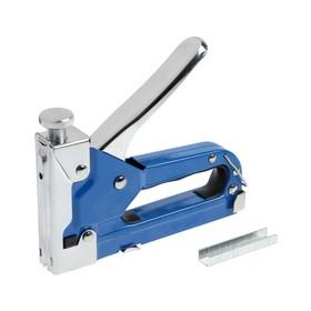 Степлер мебельный TUNDRA comfort, 4-14 мм, тип 28, 36, 47, 53, металлический корпус, 3 в 1