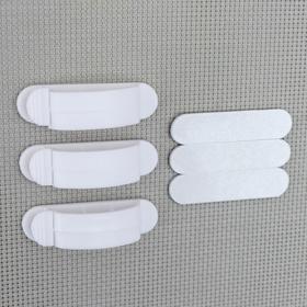 Набор кабельных зажимов 3 шт, цвет МИКС Ош
