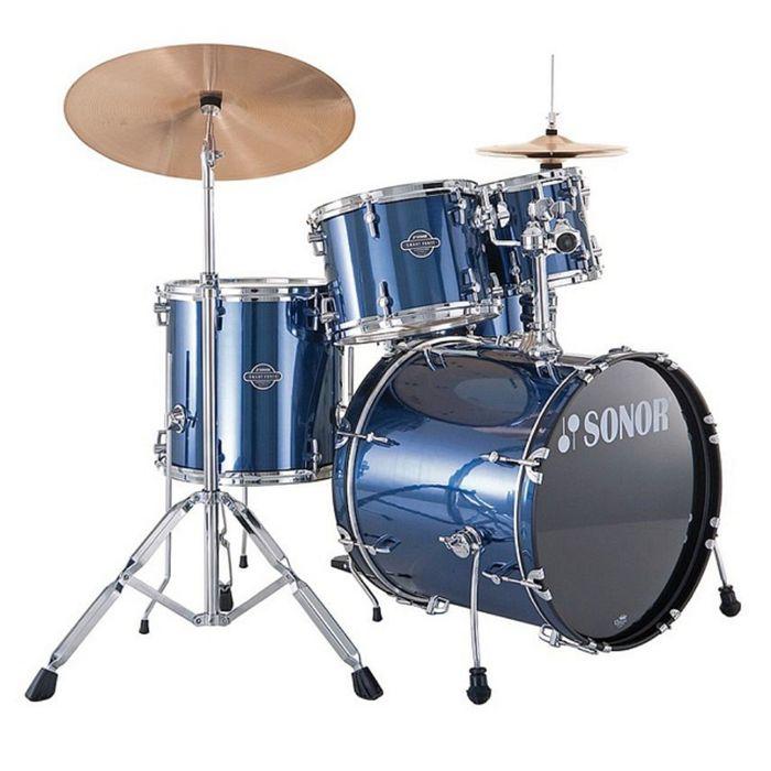 Барабанная установка Sonor 17200008 SMF 11 Combo Set WM 13004 Smart Force, синяя
