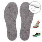 """Стельки для обуви """"ЗИМА -40С"""", льняные, с шерстью, 39-40 р-р, пара"""