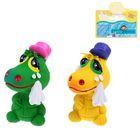 Латексная игрушка «Крокодильчик печальный», цвета МИКС