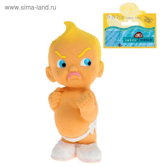 Латексная игрушка «Малыш-драчун»