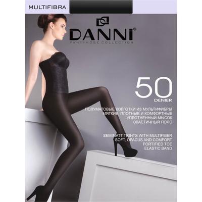 Колготки женские Danni Multifibra 80 черный, р-р 3