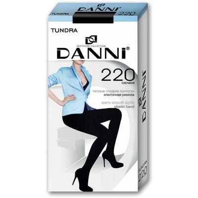 Колготки женские Danni Tundra 220 черный, р-р 4