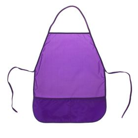 Фартук для труда, Стандарт 485 х 395 мм, Фиолетовый Ош