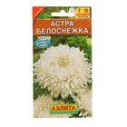 """Семена цветов Астра """"Белоснежка"""", О, 0,2 г"""