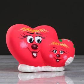 """Копилка """"Сердце двойное"""" малая"""