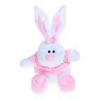 Мягкая игрушка «Кролик Стёпа», цвет белый