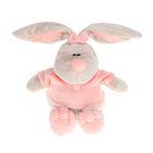 Мягкая игрушка «Кролик Стёпа», цвет бежевый