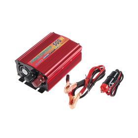 Преобразователь напряжения TORSO TP-12-500, 12/220 В, 500 Вт, USB выход