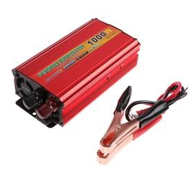 Преобразователь напряжения TORSO TP-12-1000, 12/220 В, 1000 Вт, USB выход