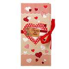 """Набор для создания конверта для шоколадки или денег """"Только для тебя"""", 8 х 18 см"""