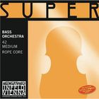 Комплект струн для контрабаса Thomastik 42 Super Flexible размером 4/4, оркестровые