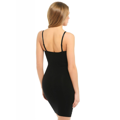 Моделирующее платье CB-Sottoveste S/S Control body plus nero 4-L/XL
