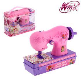 """Набор для шитья """"Швейная машинка"""", феи ВИНКС, розовый"""