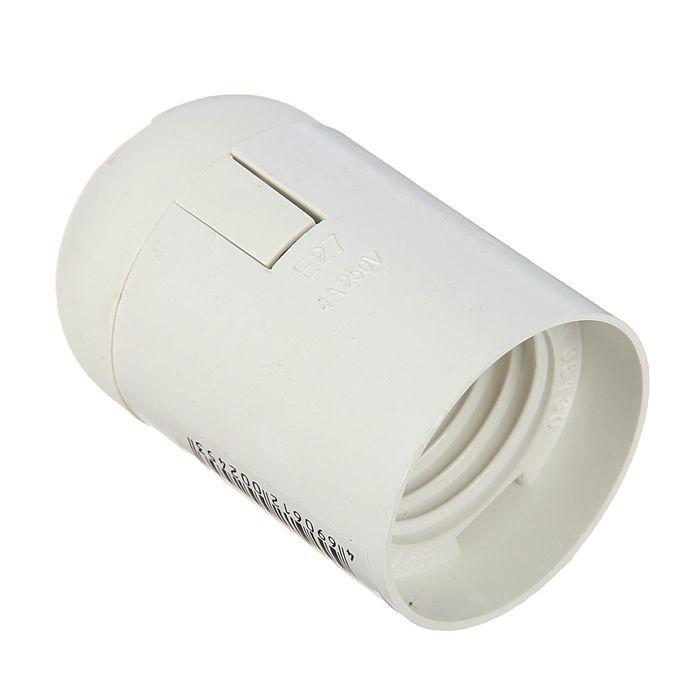 Патрон электрический, Е27, пластиковый подвесной
