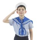 """Костюм сюжетно-ролевой """"Моряк"""", гюйс, бескозырка, р-р 50, 4-6 лет"""