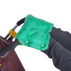 Муфта для рук «Морозко» флисовая, на кнопках, цвет зелёный