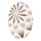 Ковёр Beluga Carving 9592 BONE/D.BROWN 3.0*4.0 м, овал