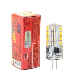 Лампа светодиодная G4, 3 Вт, 2800 K, 320°