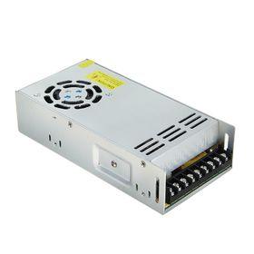 Блок питания Ecola для светодиодной ленты, 400 Вт, 220-12 В, IP20, с вентилятором