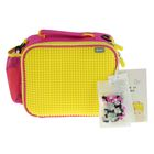 Ланч бокс Пиксель Upixel 32*23*6 см Bright Colors Lunch WY-B015 желтый-розовый