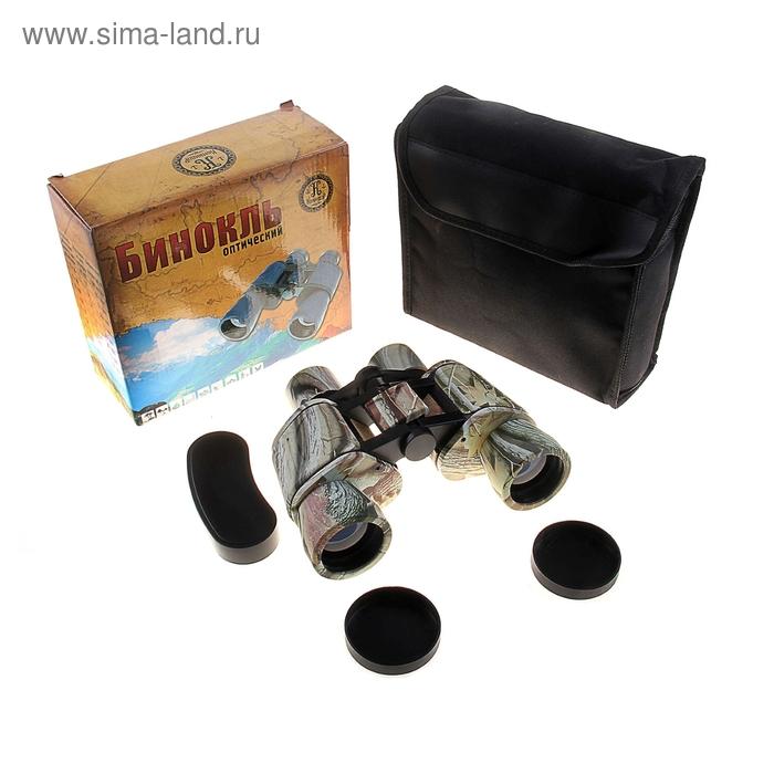 "Бинокль ""Охотник"" 8х40, окуляр круглый"