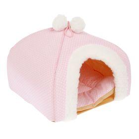 Домик для малышей, 30 х 30 х 25 см, розовый