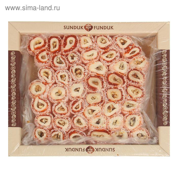 Лукум османские колбаски с грецким орехом ТМ Sunduk Funduk  3 кг
