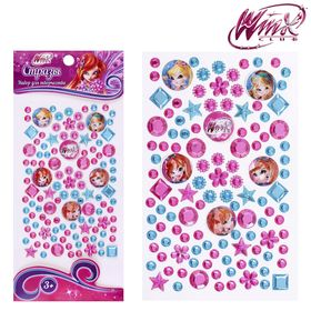 Набор для декорирования стразами, Феи ВИНКС: Блум, Стелла, Флора; розовый, голубой Ош