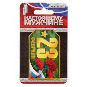 """Магнит """"23 Февраля"""", погон"""