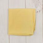 """Пелёнка (подгузник) """"Ретро"""", размер 60*60 см, цвет жёлтый M000005K"""