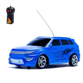 """Машина радиоуправляемая """"Внедорожник"""", работает от батареек, 1:24, цвета МИКС"""