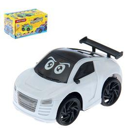 """Машина """"Глазастик"""", световые и звуковые эффекты, работает от батареек"""