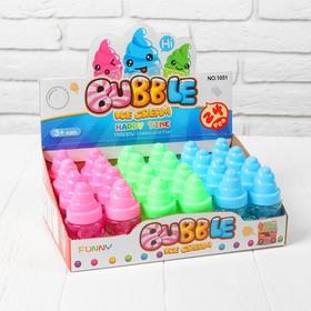 Мыльные пузыри 'Мороженка', 40 мл, цвета МИКС Ош