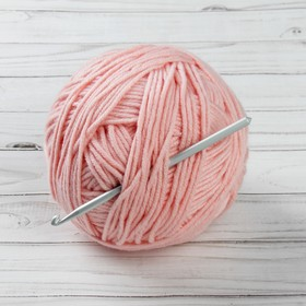 Крючок для вязания металлический, CHT, с тефлоновым покрытием, d=6мм, 15см Ош