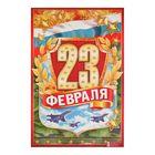 "Плакат ""23 февраля"""