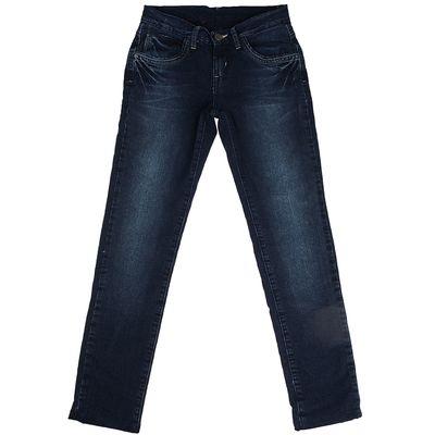Джинсы для девочки, рост 134 см, цвет синий 8103 3570