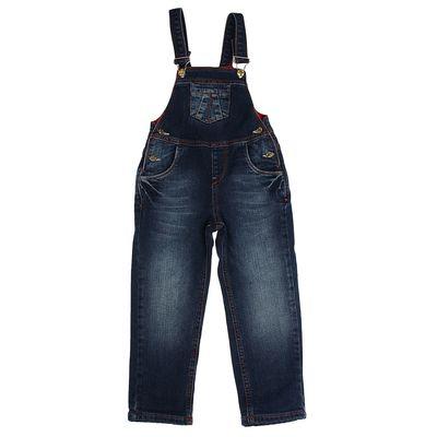 Комбинезон для девочки, рост 110 см, цвет синий (арт. 6524_Д)