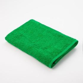 """Полотенце махровое """"Экономь и Я"""" 70*130 см зелёное яблоко, 100% хлопок, 340 г/м2"""