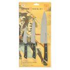 Набор ножей Samura HARAKIRI, 3 предмета: лезвия 9,9, 15, 20,8 см