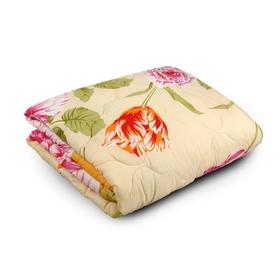 Одеяло облегченное Веста, ФПТ-О-15, 140*205, 200г/м, холлофайбер, ткань п/э, цвет микс Ош