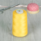 Нитки 40/2, 5000м, №120, цвет желтый №1134