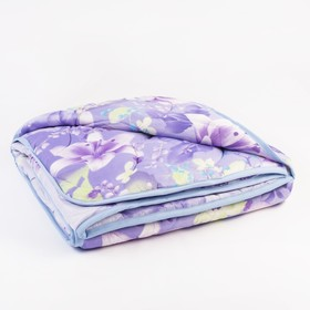 Одеяло облегченное Веста, ОПШ-О-20, 220*205, 200г/м, шерсть мериноса, п/э 100%, цвет микс Ош