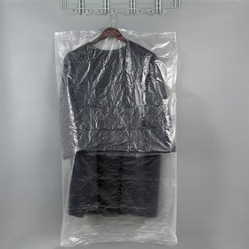 Набор чехлов для одежды 6 шт, 65х110 см, прозрачный Ош
